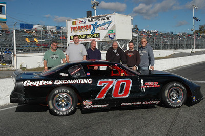 Rick Gentes 2007 Thompson Speedway Late Model Champion