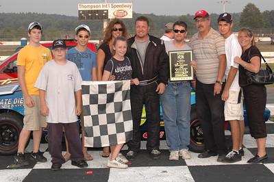 Thompson Speedway 8-16-2007 victory lane