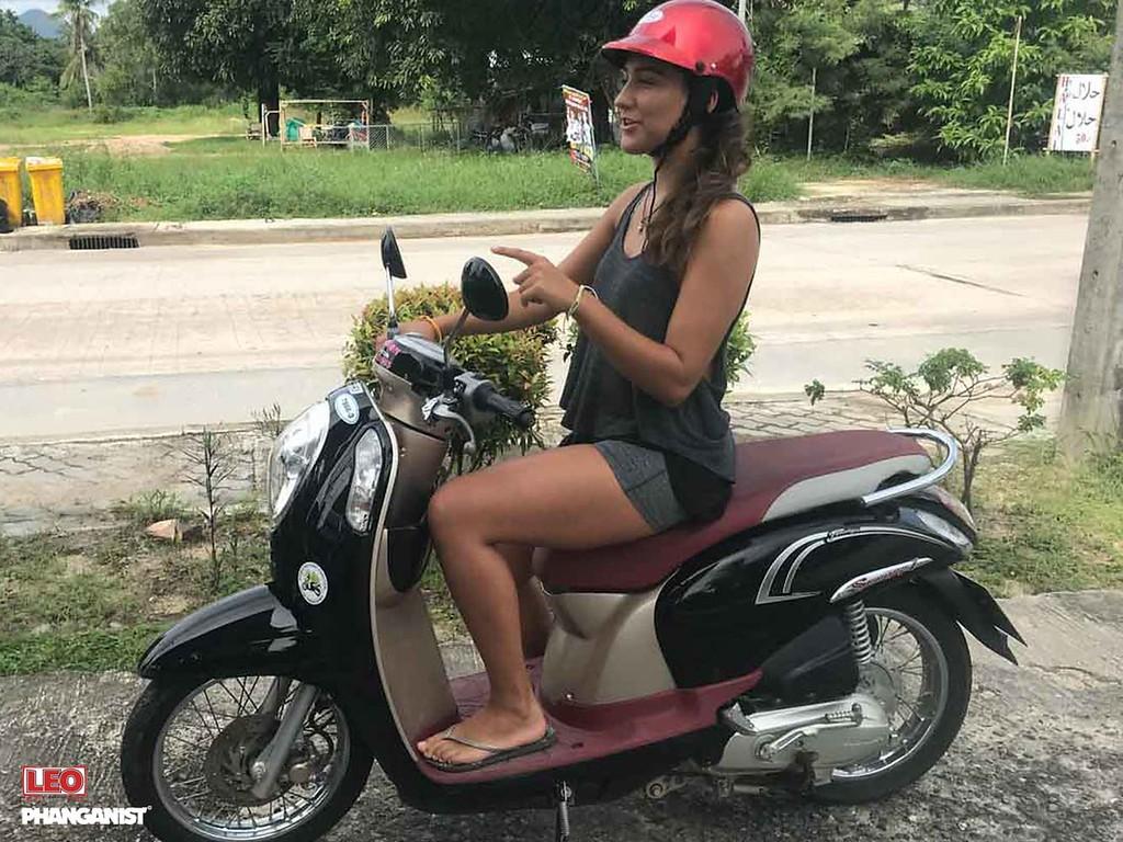 Moped Koh Phangan