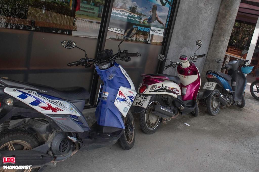 Scooter Koh Phangan