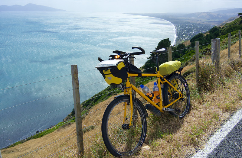 Nice ride today, feeling energetic and could have very easily kept going. I was very strict with myself and called it a day after 105km although I  did think of doing a quick trip into Wellington City and back to get 160km but told myself to calm down and relax and go home!