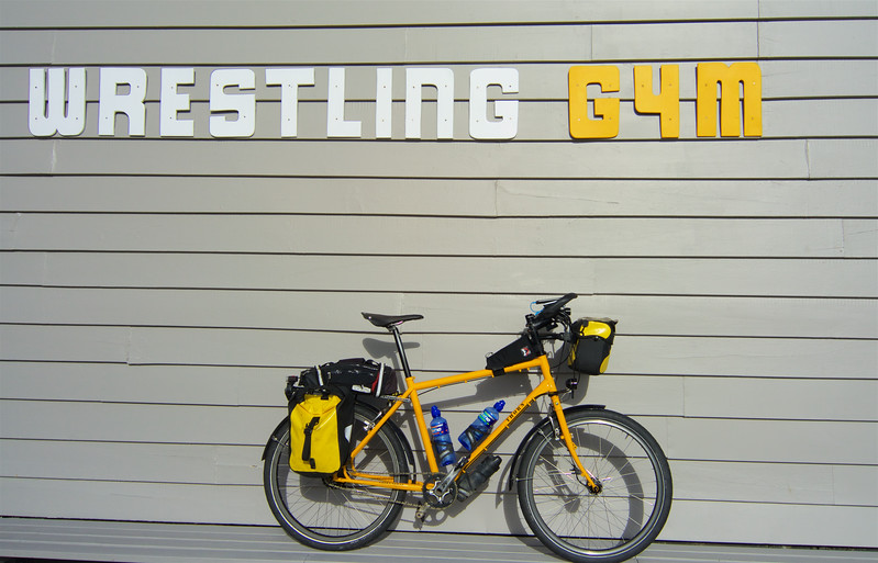 Wrestling Gym - bring it on says the mighty Thorn Nomad