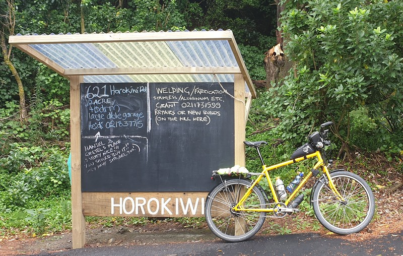 Horokiwi Sign World Famous in Horokiwi