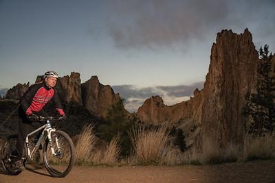 Smith Rock Sunrise — Mtn. Bike