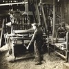 Making spokes for wagon wheels (03093)