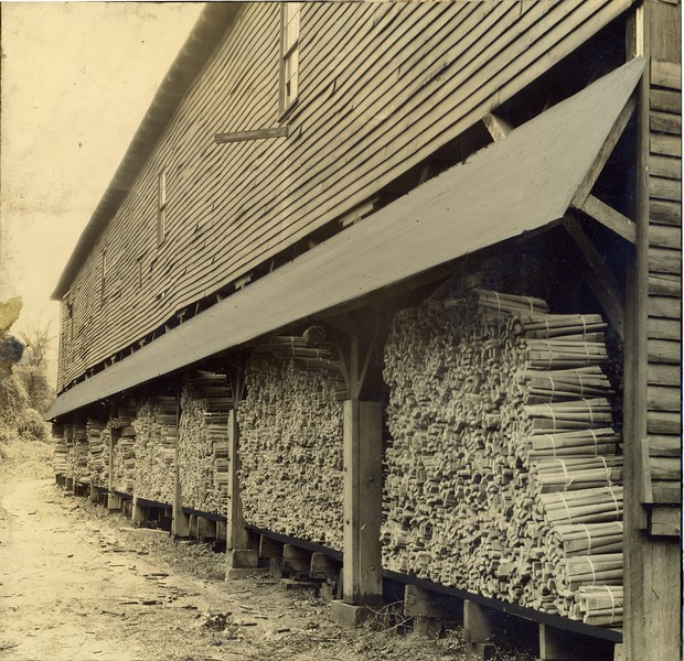 Lumber storage for Thornhill Wagon Company (03117)