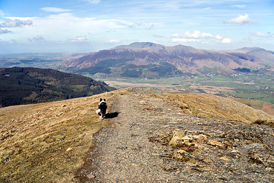 Grisedale Pike Summit