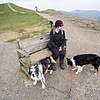 Latrigg : the bench at the viewpoint