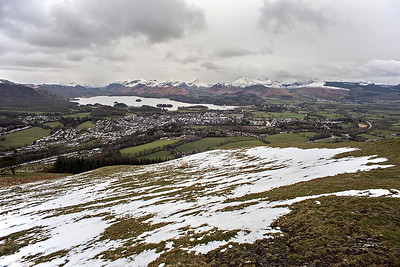 Keswick and the North Western Fells from Latrigg