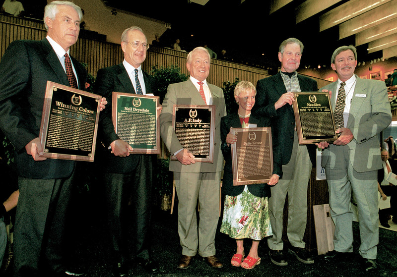 Inductions into the Hall of Fame