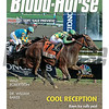 September 5, 2015 Issue 36 cover of Blood-Horse featuring Keen Ice defeating American Pharoah in the Travers Stakes at Saratoga.