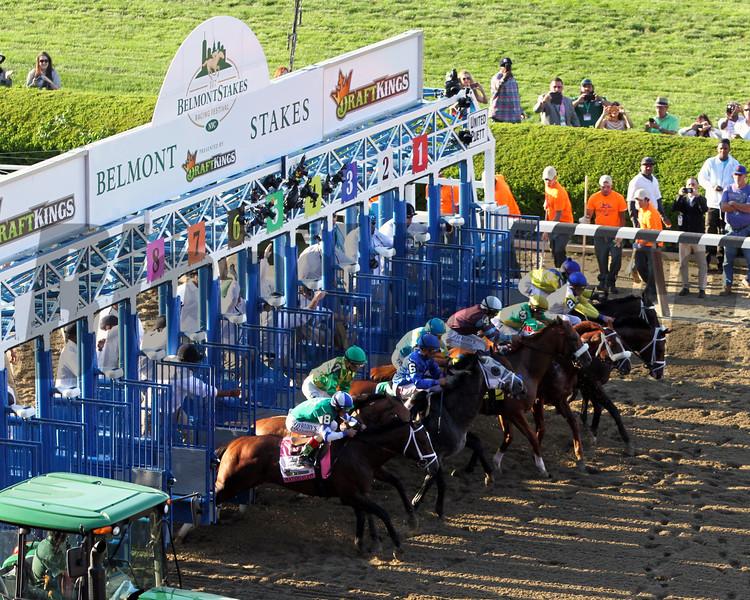 Belmont Stakes Start Chad B. Harmon