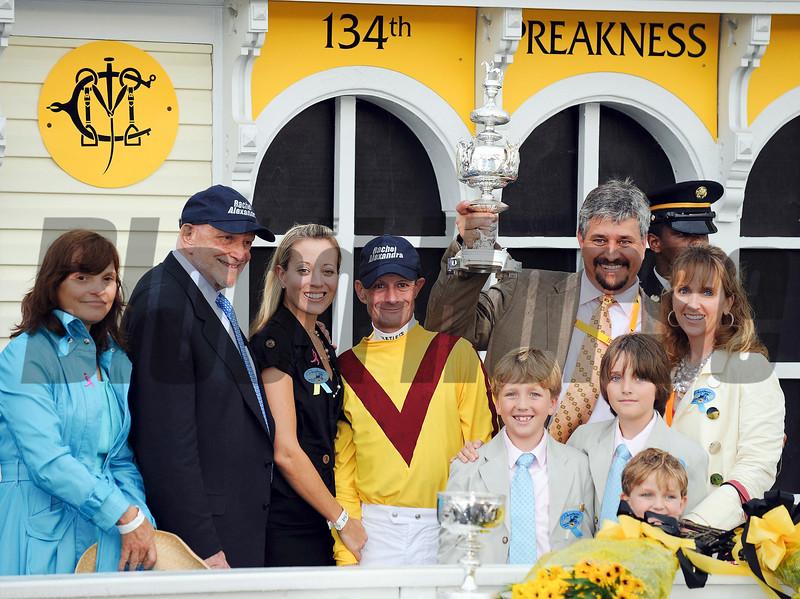 Rachel Alexandra wins the 2009 Preakness Stakes<br /> Jeffrey Snyder Photo