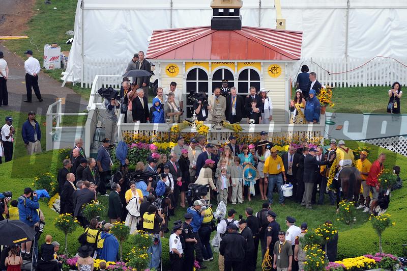 Rachel Alexander Calivin Borel win Preakness Stakes 2009