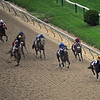 Rachel Alexander Calivin Borel win Preakness Stakes 2009, down the stretch
