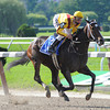 Rachel Alexandra wins the 2009 Mother Goose.<br /> Coglianese Photos