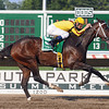 Rachel Alexandra, Calvin Borel up, easily wins The Lady's Secret Stakes at Monmouth Park.<br /> Winning time for the 1 1/8 mi was 1:49 3<br /> Rick Samuels Photo