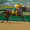 Caption: Rachel Alexandra with Calvin Borel up wins the Fleur de Lis Stakes.<br /> Stephen Foster day t Churchill Downs, on  June 12, 2010, in Louisville, Ky.<br /> Origs2 image605<br /> Photo by Anne M. Eberhardt