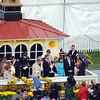 Rachel Alexander Calivin Borel win Preakness Stakes 2009, winners circle