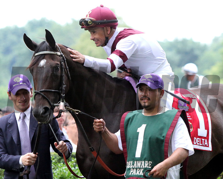 Mike Smith & Royal Delta Delaware Handicap
