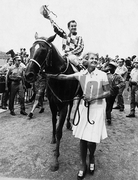 Secretariat after the Marlboro Cup.<br /> Coglianese Photos