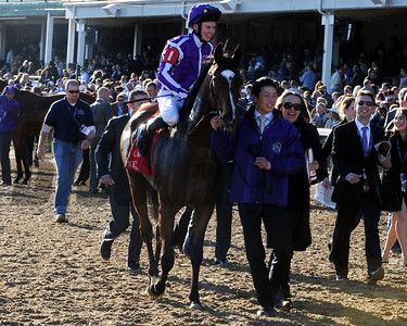 St Nicholas Abbey Joseph O'brien up, wins the Breeders Cup Turf at Churchill Downs, Lousiville, KY 11/5/11