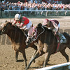 Victory Gallop wins the Whitney Handicap (gr. 1) at Saratoga on AUgust 1, 1999.<br /> Photo by: Adam Coglianese/NYRA