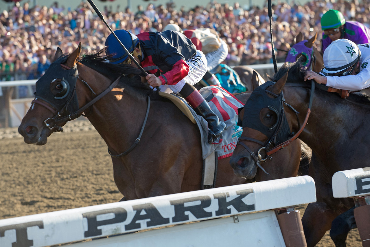 Tonialist Belmont Stakes Finish