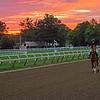 Oklahoma Training Track sunrise