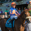 Minorette Belmont Oaks Invitational return