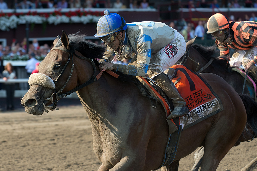 Sweet Reason test Stakes finish