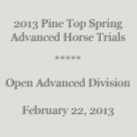 0001 - Pine Top 2013 Spring A HT