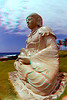 Statue of Buddha in 3D, Waikoloa Hawaii