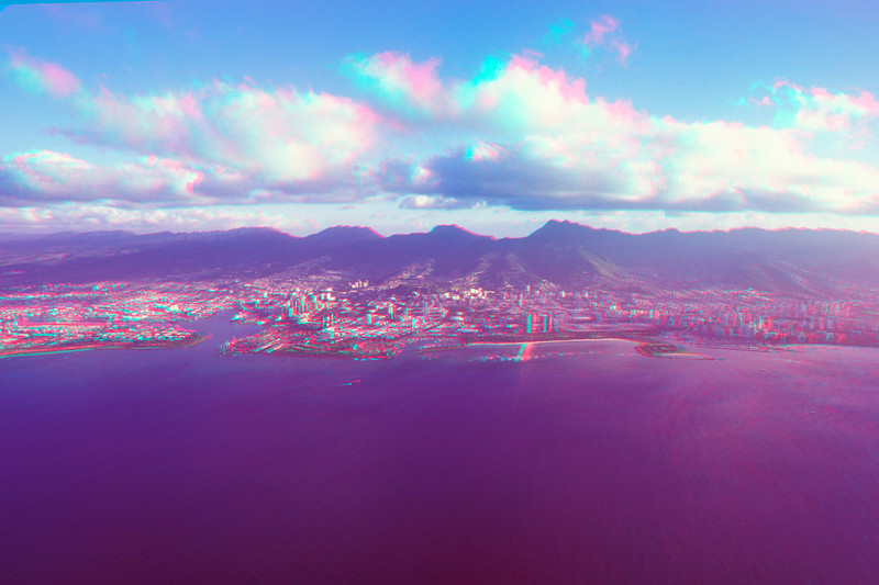 Honolulu Hawaii in 3D, Hawaii
