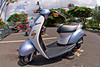 3D image of moped at Big Island Motorcycle Co. in Waikoloa, Hawaii
