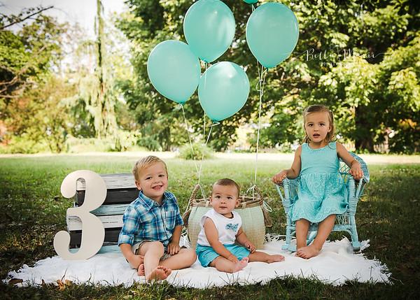 Julia & Jack Turn Three