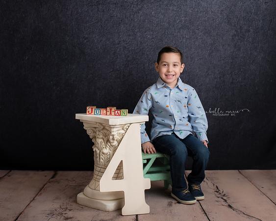 Julian is FOUR !