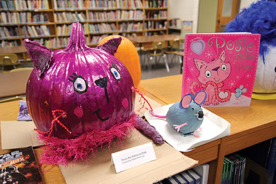 TLE library Pumpkin Pandemonium contest.Photo by Jennifer West