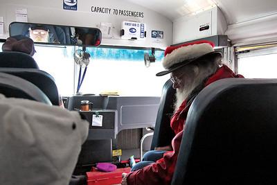 Santa Bus Ride