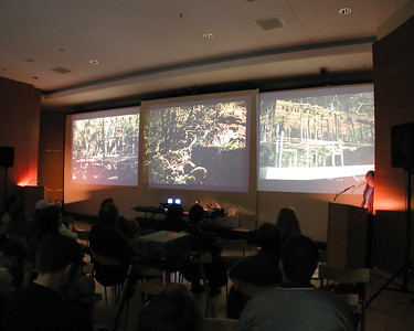 Three Landscapes - performed lecture