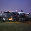 WR 962 Avro Shackleton engine run video