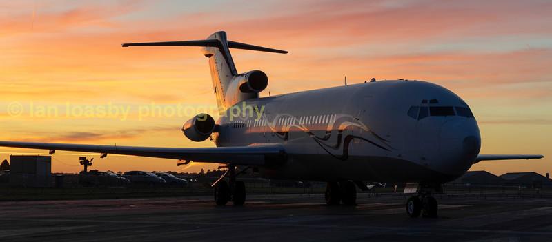 Boeing 727  M-FTOH