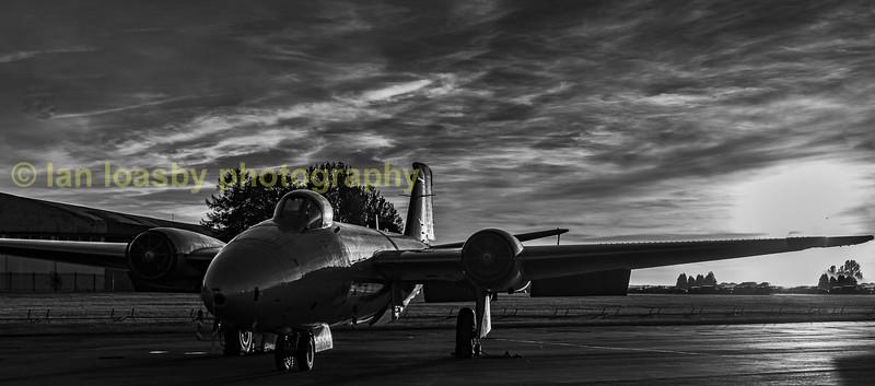 EX RAF Canberra PR9 XH134