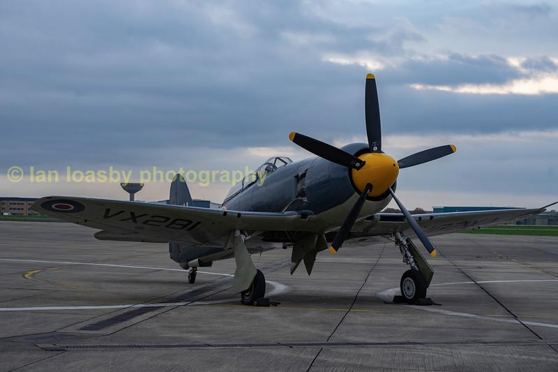 VX281  Hawker Sea Fury T20