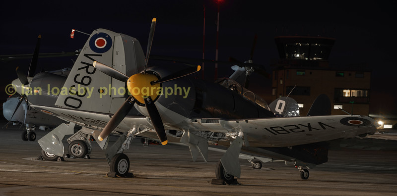 Sea Fury's VX281 & VR901