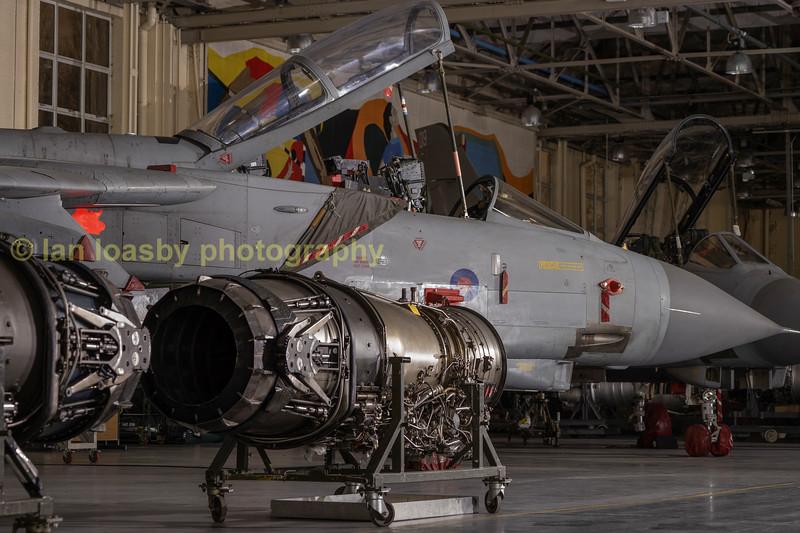 unidentified engines and Tornado GR4  ZA459