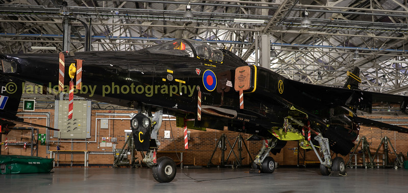 Seepcat Jaguar GR1a XX965 in the livery of 16 sqn.