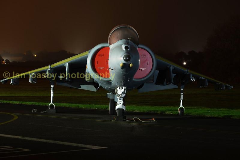 BaE Harrier XS991 GR3 of 1fighter Sqn