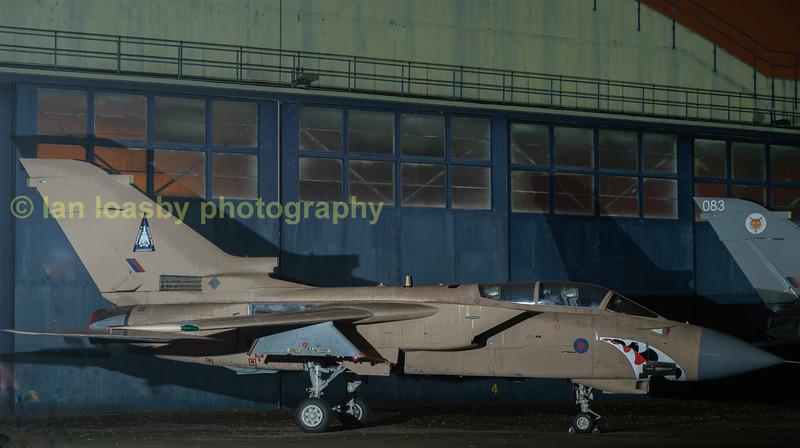 Panavia Tornado ZD793 of 15 sqn (rs) RAF  Lossiemouth