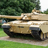 This british Army Challenger 1 main battle tank is on display outside the barracks opposite the entrance to the tank museum.  Permission was asked and granted from the guardroom prior to taking this image, Please do the same yourself if you want to take it